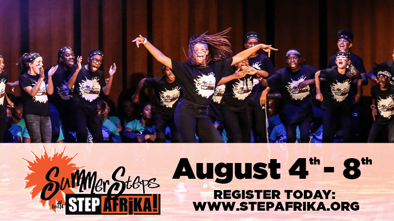 Summer Steps with Step Afrika!