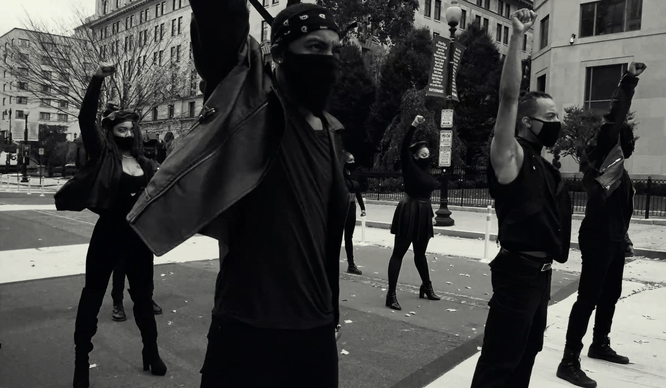 Watch our soul stirring new work: No Justice, No Peace